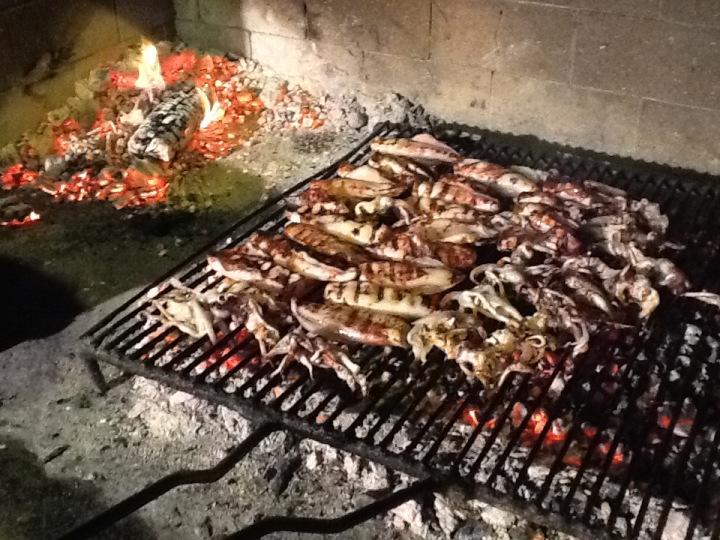 konoba skojera grilled calamari