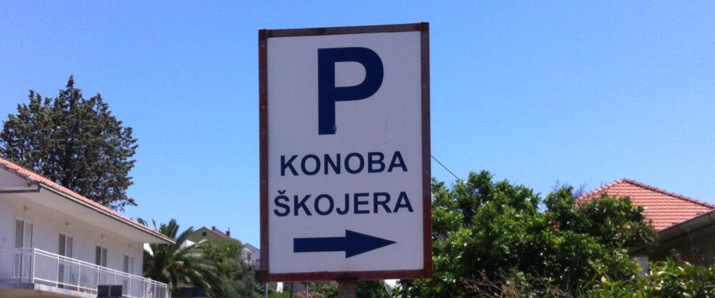 konoba skojera free parking trpanj