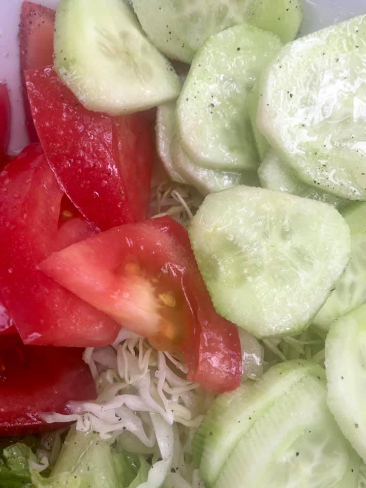 konoba skojera trpanj salad