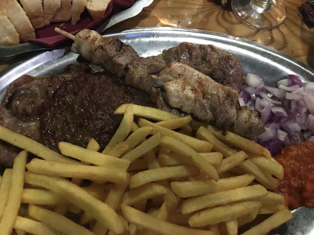 restaurant trpanj grilled meat